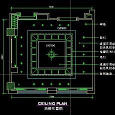 餐厅包间详图-CAD餐饮空间图纸素材第二辑9--CAD整体案例