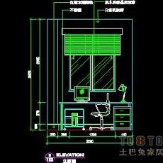 三居室实套、现代简约场景详图A-3套