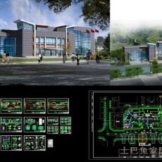 社区服务中心办公楼建施