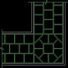 中式铺地、花街铺地、石材拼花CAD图块59--CAD图块素材