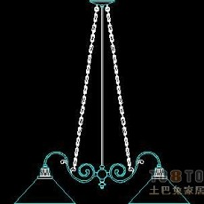 灯具图块001-95个