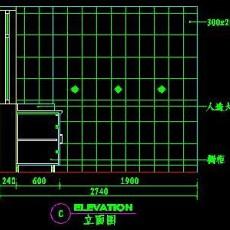 厨房实例CAD祥图12--CAD空间素材