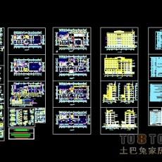 办公楼全套图设计