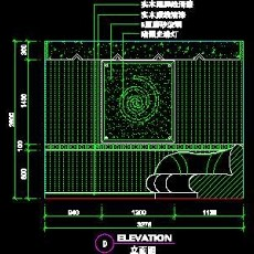 KTV包房、娱乐类实例cad详图素材105--CAD整体案例