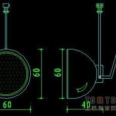 灯具图块002-81个