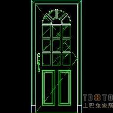 门图块001-单扇门126个
