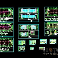 4套厂房建筑施工图