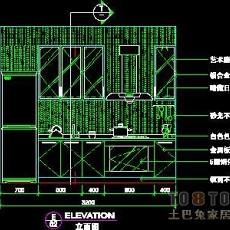 二居室实套、现代简约场景详图B-3套