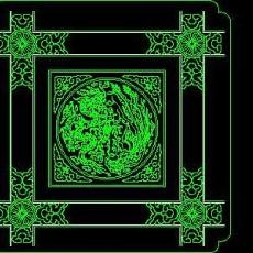 cad中式彩画图块素材70--CAD图块素材