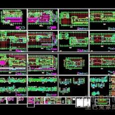 商业楼全套建筑施工图