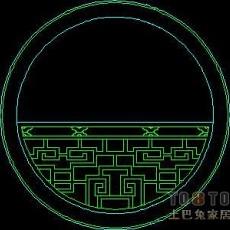 窗图块001-中式窗50个