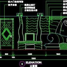 KTV包房、娱乐类实例cad详图素材100--CAD整体案例
