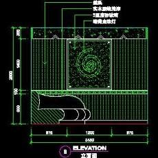 KTV包房、娱乐类实例cad详图素材109--CAD整体案例
