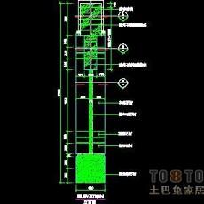 装饰构造、柱详图3套