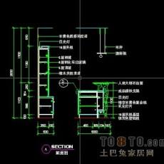 娱乐空间图纸素材002-吧台详图11套