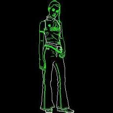 导购牌、电器类图块、服装类图块、化妆品CAD图块详图88--CAD整体案例