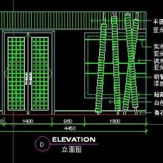 餐厅包间详图-CAD餐饮空间图纸素材6--CAD整体案例