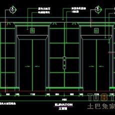 办公类实套、电梯间详图14套