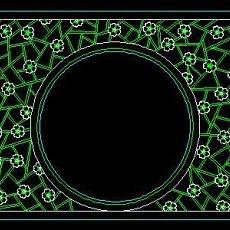 中式落地罩、中式隔断、活动式隔断、低隔断、高隔断CAD图块37--CAD图块素材