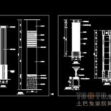 装饰柱施工详图12个免费下载