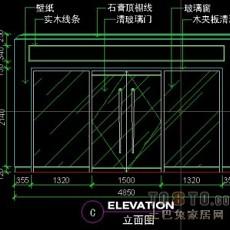 娱乐空间图纸素材001-桑拿浴详图4套