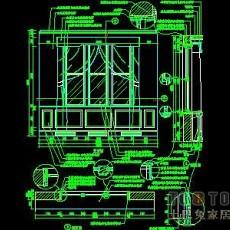 窗图块004-窗祥图39个