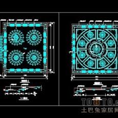 顶棚装饰设计详细图