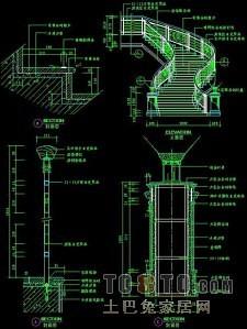 楼梯与栏杆详细施工图