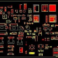 经典CAD家具图库