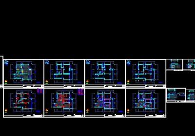 邮电小区施工图施工图