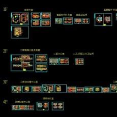 办公楼室内设计施工图