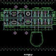 宾馆2层平面图END