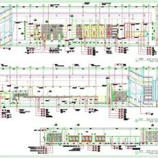酒店施工图纸立面图
