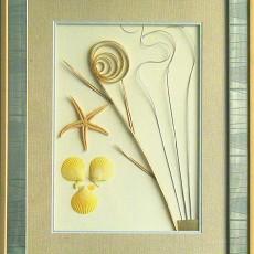 干花挂画贴图材质素材图片叁零