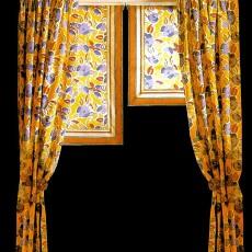 窗帘贴图素材图片之零伍零