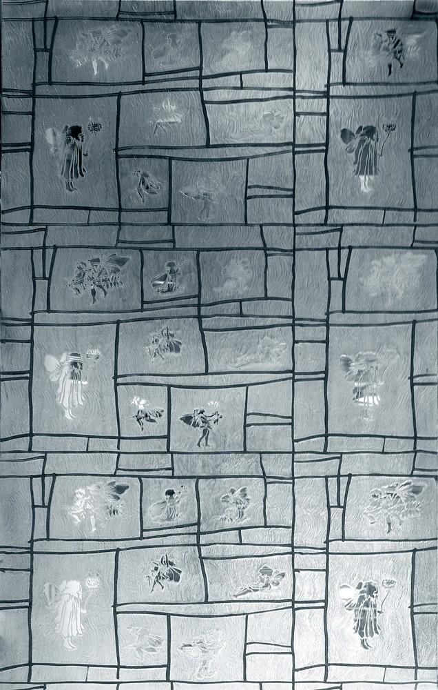 艺术玻璃材质贴图(花仙子)