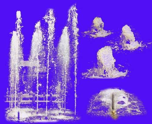 喷水池素材的图片零柒