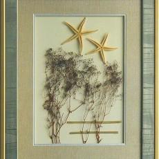 干花挂画贴图材质素材图片二伍