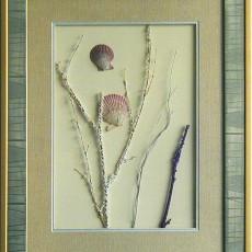 干花挂画贴图材质素材图片二二