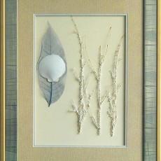 干花挂画贴图材质素材图片玖