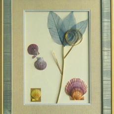 干花挂画贴图材质素材图片叁肆