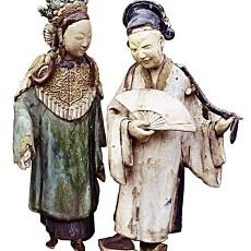 彩陶贴图材质素材-1609