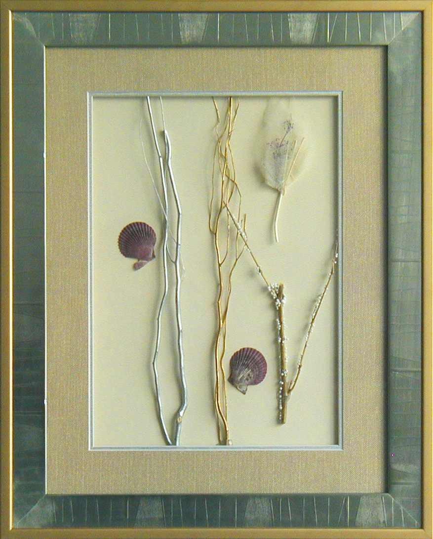干花挂画贴图材质素材图片叁