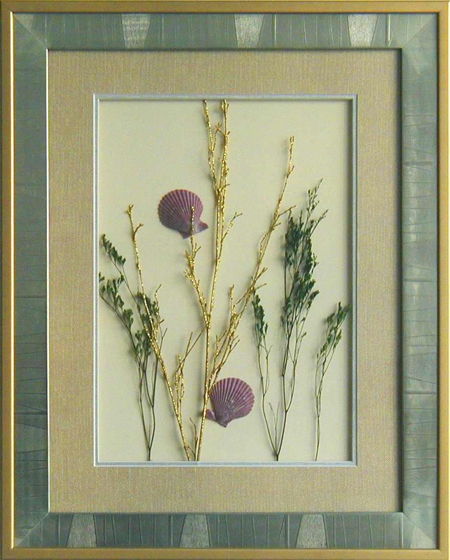 干花挂画贴图材质素材图片贰伍