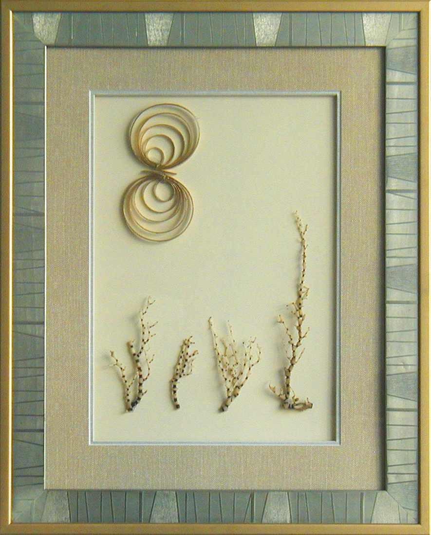 干花挂画贴图材质素材图片叁玖