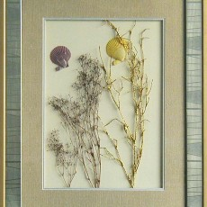 干花挂画贴图材质素材图片柒