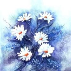 花草畫貼圖材質