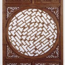 中式木雕屏風