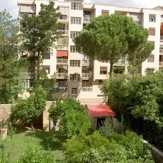住宅小区花园外景