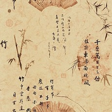 中式壁紙1